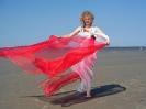 Performance an der Nordsee